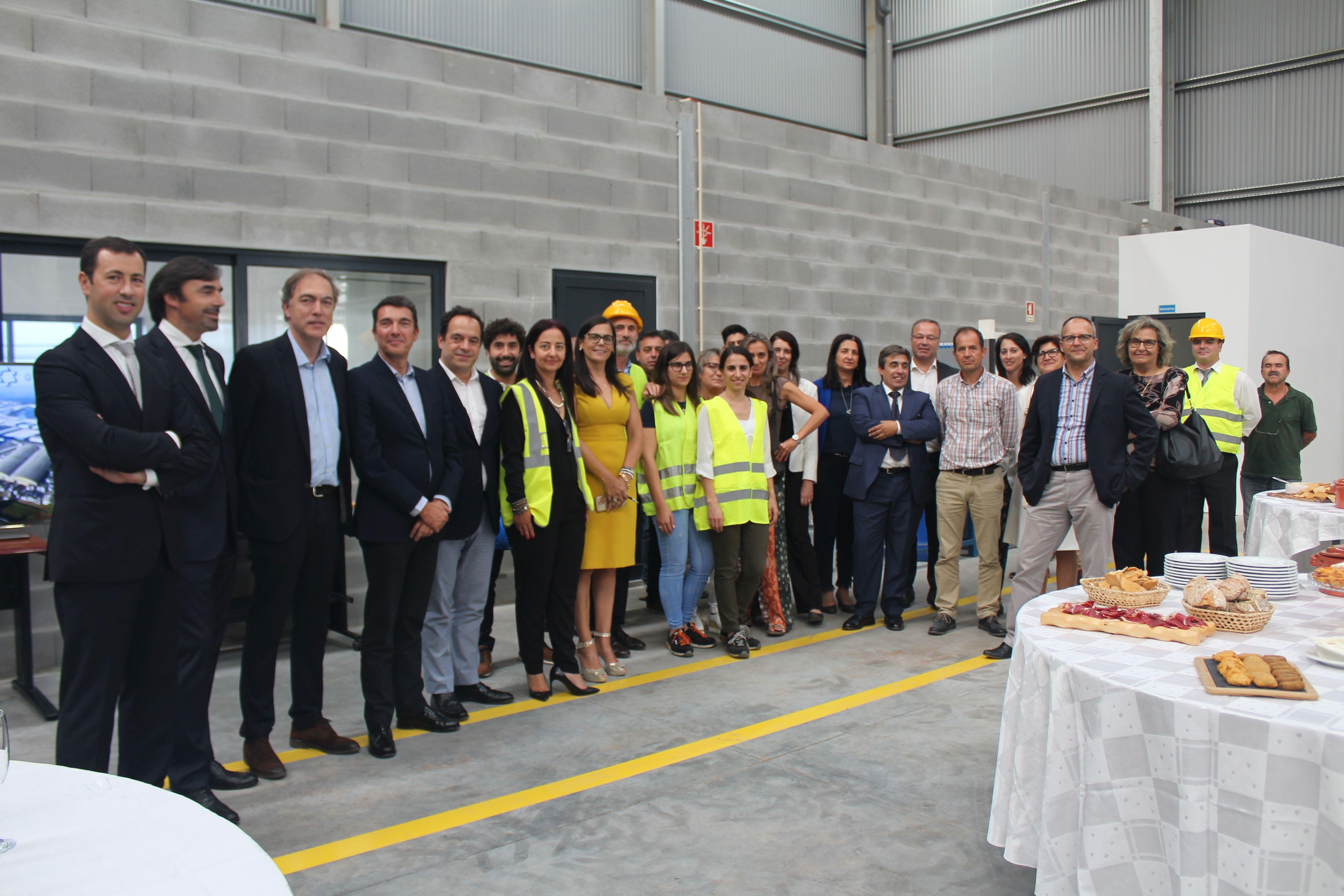 inauguração de instalações de produção de silicato de sódio e potássio em Portugal